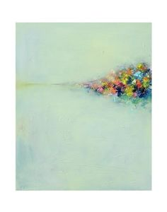 Abstract Landscape 3 Art PRINT Giclee poster wall art by siiso