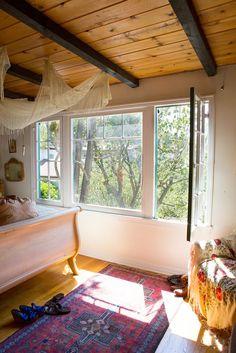 House Tour: Vintage Bohemian California Hilltop House   Apartment Therapy