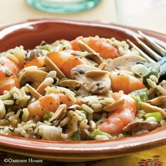 Gooseberry Patch Recipes: Shrimp & Wild Rice from Our Best Comfort Foods Cookbook.