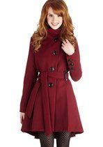 Winterberry Tart Coat | Mod Retro Vintage Coats | ModCloth.com