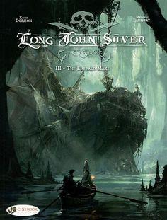 """The Emerald Maze (Long John Silver)"" av Xavier Dorison"