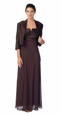 Plum Mother of the Bride/Groom Dress Plus Size Formal Gown Plum Long