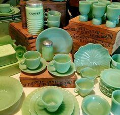 Jadeite...lots of jadeite.