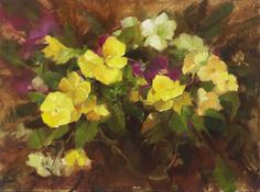 Paint Pansies from Life with these techniques from Stephanie Birdsall and www.ArtistsNetwork.tv