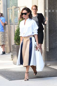 WHO: Victoria Beckham WHAT: Victoria Beckham WHERE: On the street, New York…
