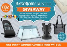 Enter to win the BABYBJÖRN Bundle of Joy Giveaway // blog.rightstart.com
