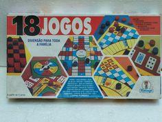 brinquedo antigo xalingo jogo 18 jogos anos 80/90
