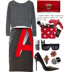 A fashion look from September 2014 featuring Bodkin sweaters, Zara pumps and Christian Louboutin clutches. Browse and shop related looks.