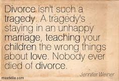 If your unhappy...your children are unhappy. Staying in a relationship with someone who has a lower vibration will pull you and your children down. Look ahead and see how happy they are with parents who love them and are kind and loving to each other. It's your fear...not theirs. Children can accept and love a step parent....not all step parents are evil.