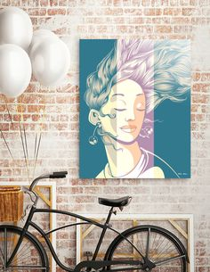 Discover «Girl 2», Limited Edition Aluminum Print by Daniele Odierna - From 59€ - Curioos