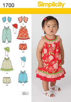 Simplicity Creative Group - Babies' Dress and Separates