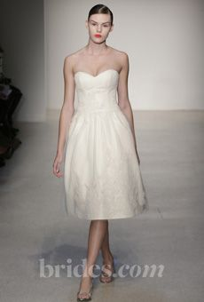 Brides: Amsale - Fall 2013 | Bridal Runway Shows | Wedding Dresses and Style | Brides.com