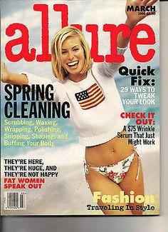 Niki Taylor - Allure Magazine [United States] (March by Sante D'Orazio. Niki Taylor, 90s Fashion, Fashion Models, Hayley Baldwin, Fashion Magazine Cover, Magazine Covers, Famous Models, Fat Women, Supermodels