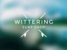 Wittering Surf Shop Logo by Dan Edwards