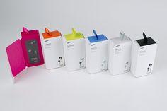 SAMSUNG earphone package by BDCI #MedicalDevicePackaging