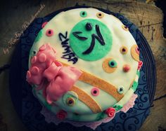 Party Zumba Cake- only pinned because its hilarious!! How ironic lol