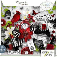 Elegancia (kit complet) par Graphia Bella