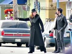 SHOOT: ONCE UPON A TIME Rehearsal Hijinks With Ginnifer Goodwin, Josh Dallas, Colin O'Donoghue & Rebecca Mader in Steveston
