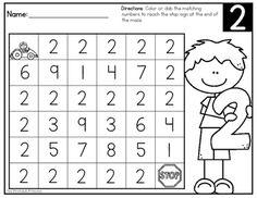 Number Sense: Number Mazes