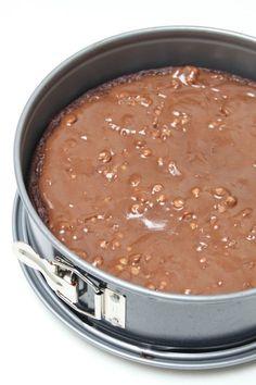 Kladdkaka med digestive choklad