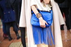 Street look à la Fashion Week de Milan automne-hiver 2014-2015, Jour 1 http://www.vogue.fr/defiles/street-looks/diaporama/fashion-week-milan-les-street-looks-automne-hiver-2014-2015-jour-1-fw2014/17632/image/956452#!street-look-a-la-fashion-week-de-milan-automne-hiver-2014-2015-jour-1