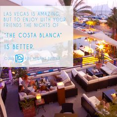 A good plan for summer nights on the #costablanca! www.abahanavillas.com