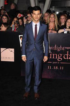 Taylor Lautner Breaking Dawn LA Premier