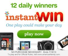 American Family Instant Win Sweepstakes on http://www.icravefreebies.com