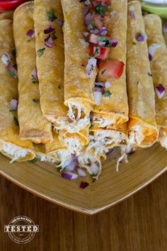 Cream Cheese Taquitos Slow Cooker Crock Pot School Day Meal!