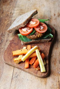 Chickpea & Spinach Burger