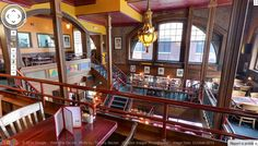 Follow this link to take a Google Virtual Tour of City Steam Brewery Cafe, a restaurant with nine levels of dining in the heart of downtown Hartford CT: http://visitingnewengland.com/Virtual-Tour-Dining-Guide-City-Steam-Hartford-17.html #citysteambrewery #hartford