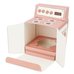 Pink Oven Cupcake Box
