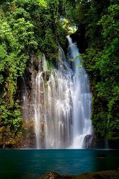 Tinago Falls in Iligan, Philippines