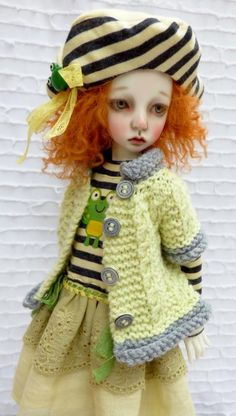 FALL OUTFIT FOR DOLLSTOWN DEOGI DT7 YEARS  BODY MSD MIKI  KAYE WIGGS BY BARBARA