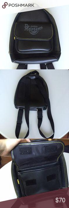 Dr. martens black vintage mini backpack Like new, has adjustable straps and its super cute Dr. Martens Bags Backpacks