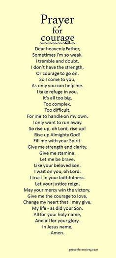 Prayer for my daughter jesus oraciones, hablando con dios, p Prayers For My Daughter, To My Daughter, Power Of Prayer, My Prayer, Prayer Room, Prayer Closet, Faith Prayer, Prayer For Courage, Strength Prayer