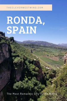 Spain Travel Guide, Europe Travel Tips, European Travel, Travel Guides, Places To Travel, Travel Destinations, Places To Go, Ronda Spain, Backpacking Europe