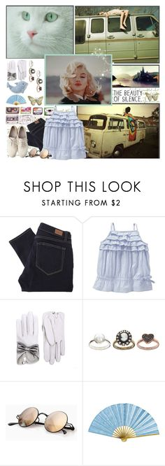 """""""enjoy the silence..."""" by janjoplin ❤ liked on Polyvore featuring Paige Denim, Maison Margiela, Old Navy, Causse, ASOS and Mykita"""