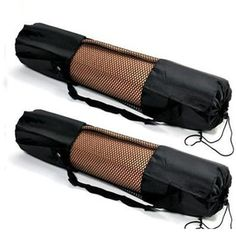 Yoga Mat Bag Carrier Nylon Mesh #yogamatbags