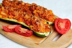 Lahodný a ľahký obed, ktorým ohúriš každého milovníka zdravých, sviežich chutí… Quinoa, Zucchini, Food And Drink, Pizza, Healthy Recipes, Healthy Food, Vegetables, Cooking, Blog
