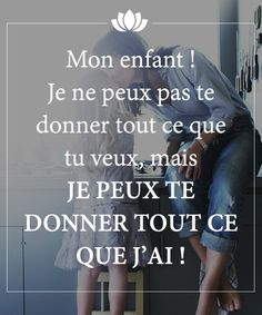 Amour inconditionnel parent/enfant                                                                                                                                                                                 Plus