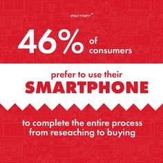 of consumers prefer to use there smartphone to complete the entire process from researching to buying. Need For Speed, Smartphone, Website, Feelings, Stuff To Buy