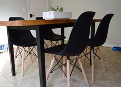 Mom in Music City - Modern, plastic chairs. Easy to clean, lightweight, affordable.