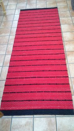 Blogg, Rag Rugs, Scandinavian Style, Carpets, Pattern Design, Weaving, Tapestry, Farmhouse Rugs, Hanging Tapestry