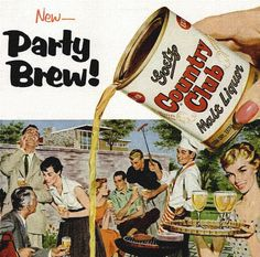 New - Party Brew!  Country Club Malt Liquor...in a can!!