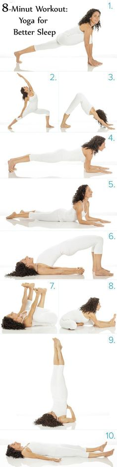looking for tutorial on 8-Minute Workout: Yoga for Better Sleep. Here is a easy to do 8-Minute Workout: Yoga for Better Sleep. Try NOW!