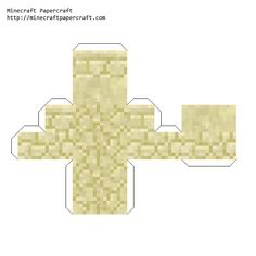 Papercraft Sandstone Stairs, Minecraft Templates, Minecraft Blocks, Minecraft Crafts, Minecraft Buildings, Papercraft Minecraft Skin, Diy Paper, Paper Crafts, Crafts For Kids, Arts And Crafts