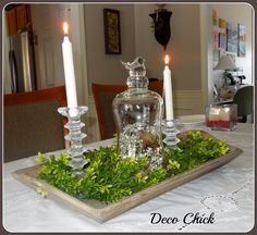 Deco Chick: New Dining Room Centerpiece