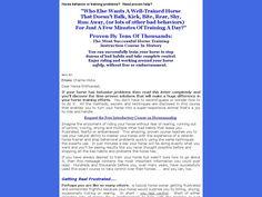 [Get] Expert Horse Training And Handling. - http://www.vnulab.be/lab-review/expert-horse-training-and-handling ,http://s.wordpress.com/mshots/v1/http%3A%2F%2Fforexrbot.htpro.hop.clickbank.net