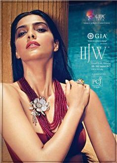 Sonam Kapoor in photoshoot for IIJW 2013